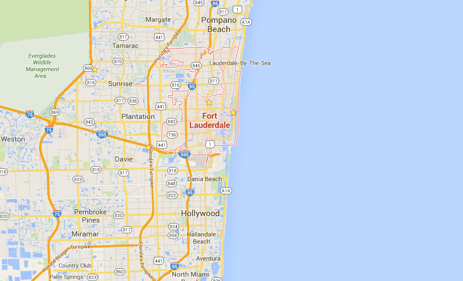 Fort Lauderdale SEO | Local SEO | Florida SEO Map Location