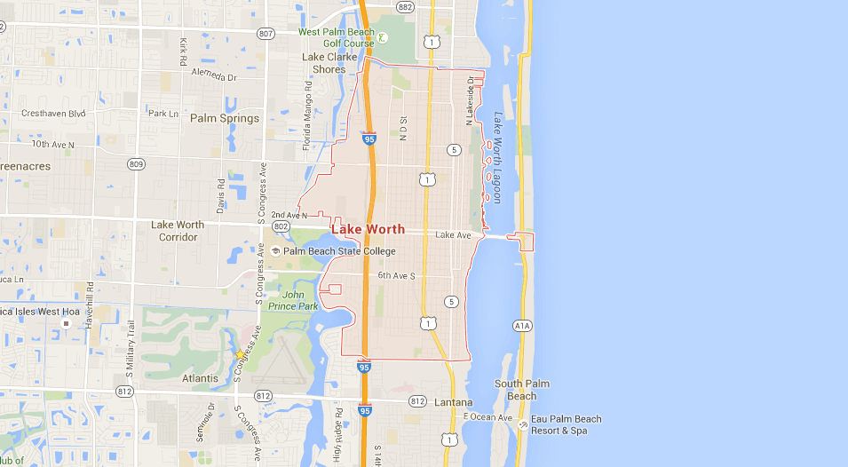 Lake Worth SEO | Florida Search Engine Optimization Company Map